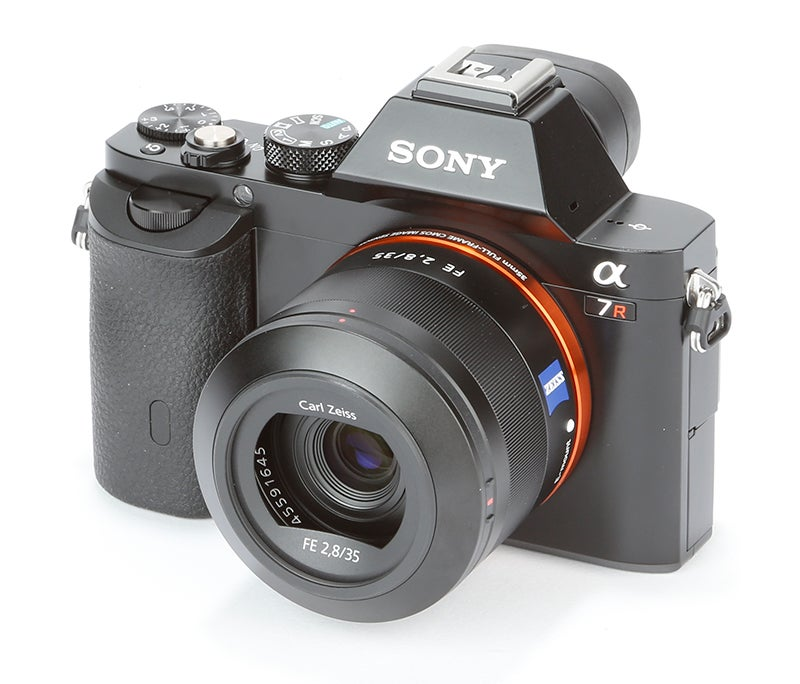 Sony A7R front angled