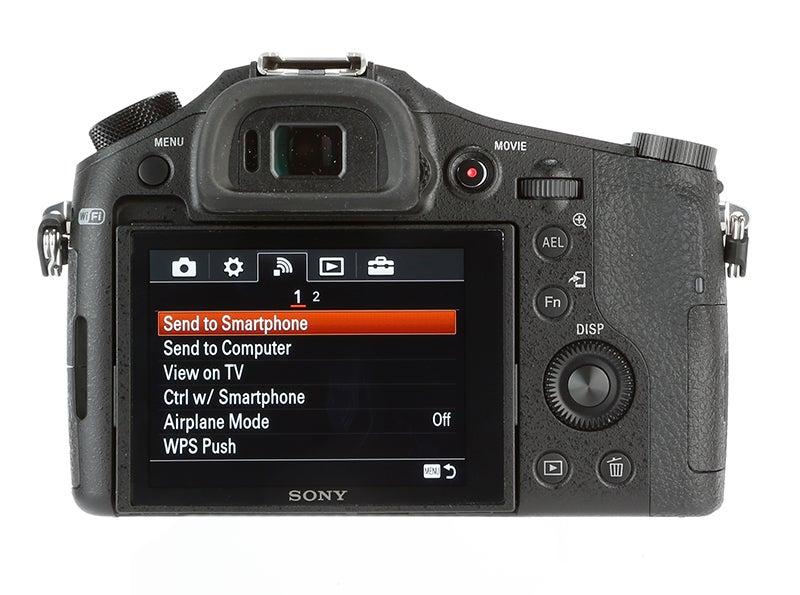 Sony Cyber-shot RX10 Review - rear screen