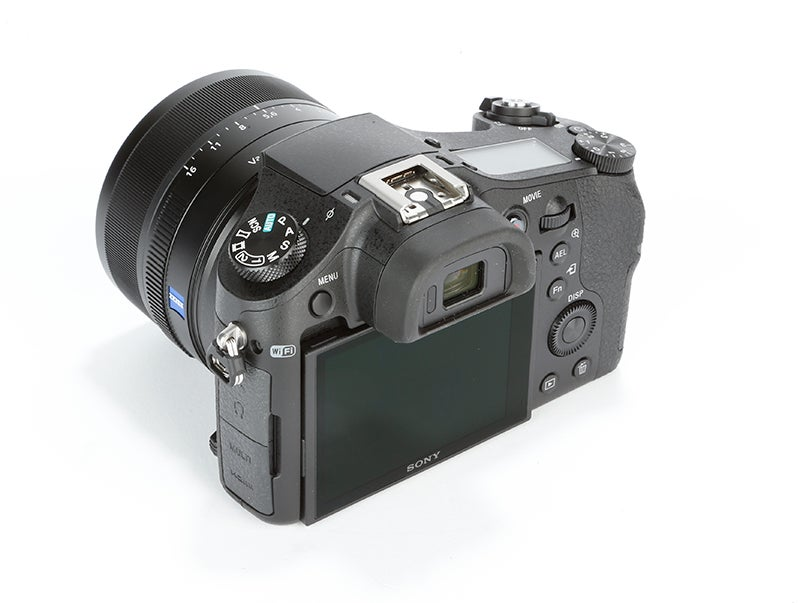 Sony Cyber-shot RX10 Review - rear angled