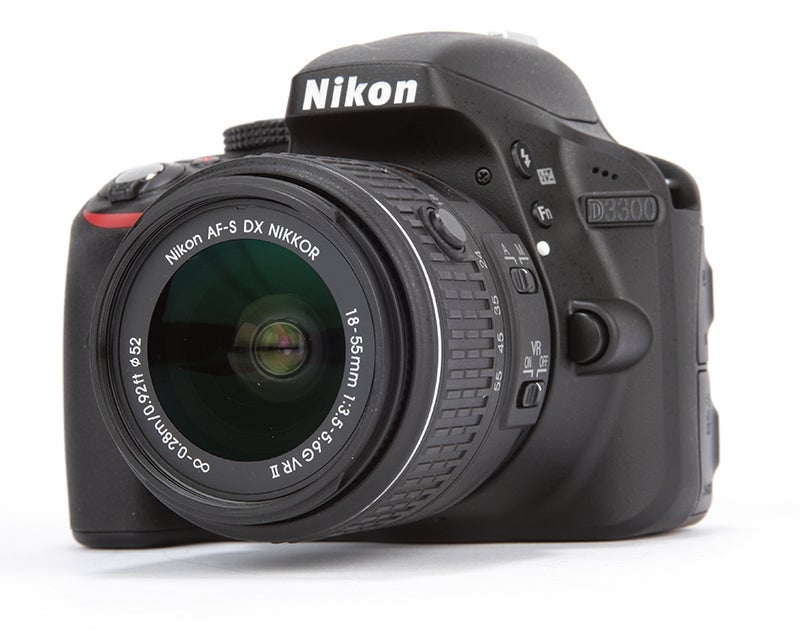 Nikon D3300 Review - low angled