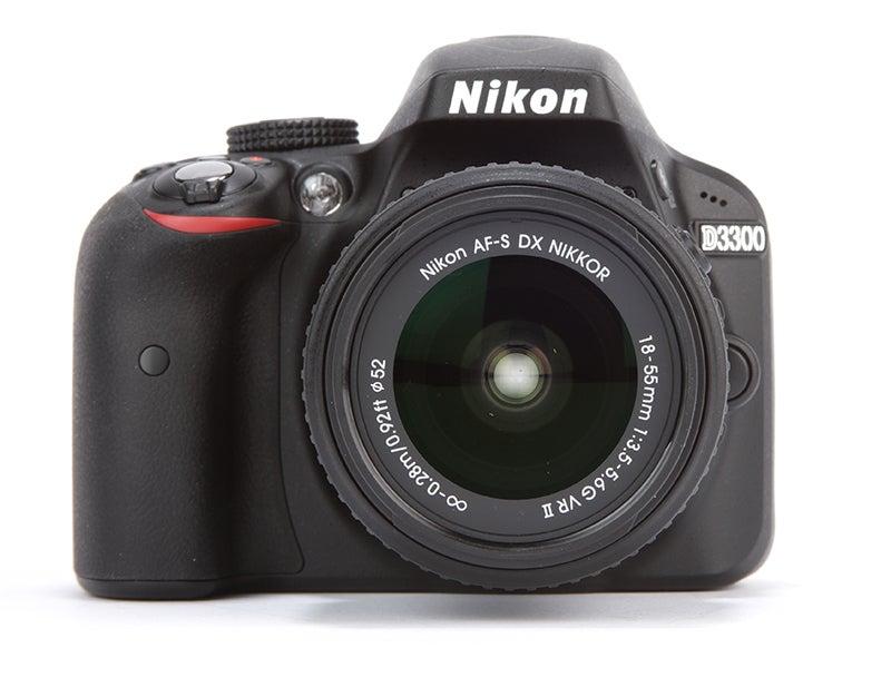 Nikon D3300 Review - front view