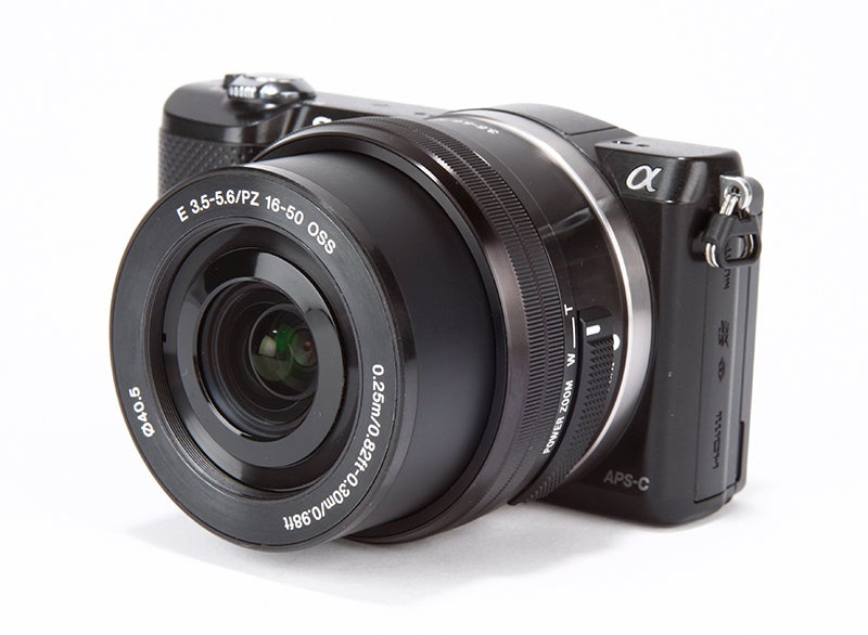 Sony A5000 Review -  angled