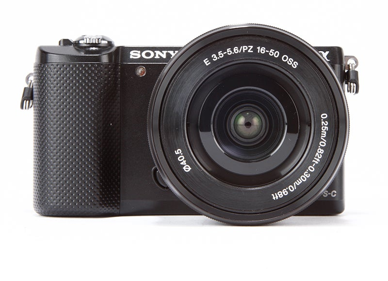 Sony A5000 Review - front view