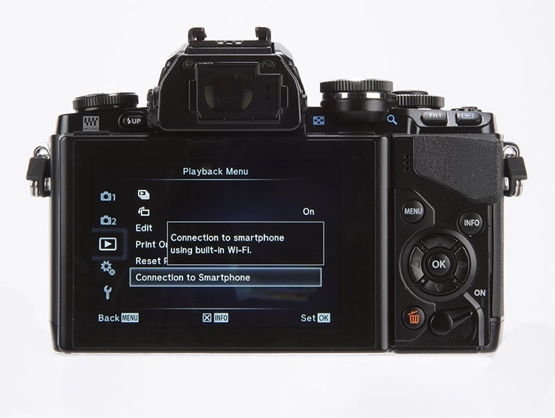 Olympus OM-D E-M10 Review - rear
