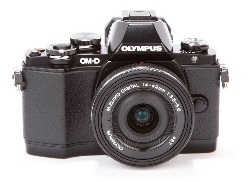 Olympus OM-D E-M10 Review -  front view