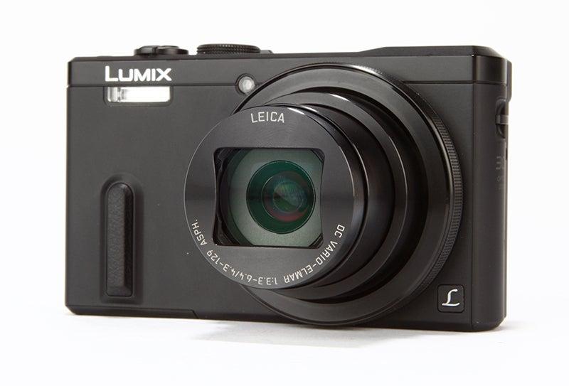 Panasonic Lumix TZ60 Review - angled
