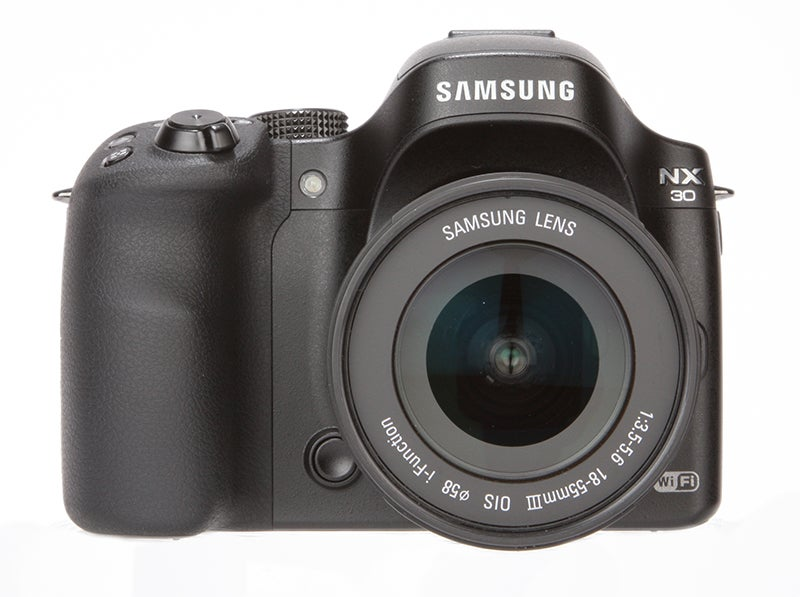 Samsung NX30 Review - front view