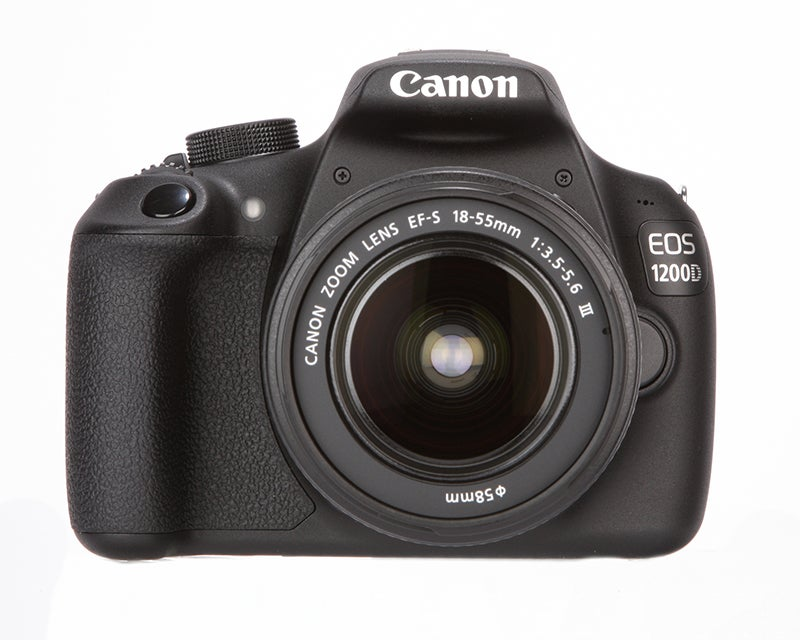 Canon EOS 1200D Review - front view