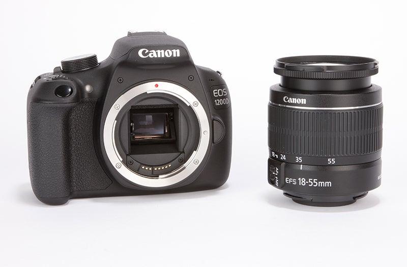 Canon EOS 1200D Review - sensor