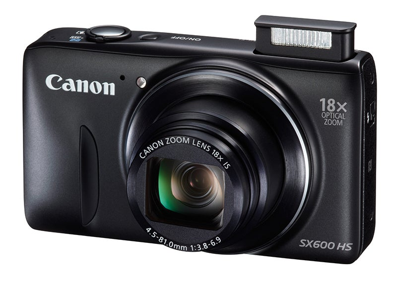 Canon PowerShot SX600 HS Review - angled