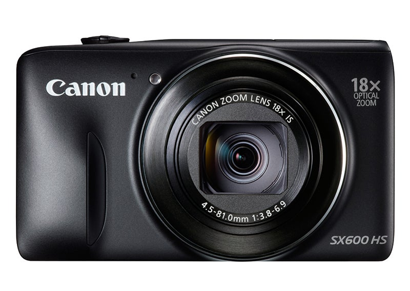 Canon PowerShot SX600 HS Review - front