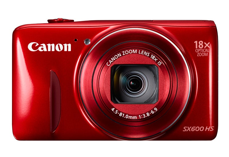 Canon PowerShot SX600 HS Review - red