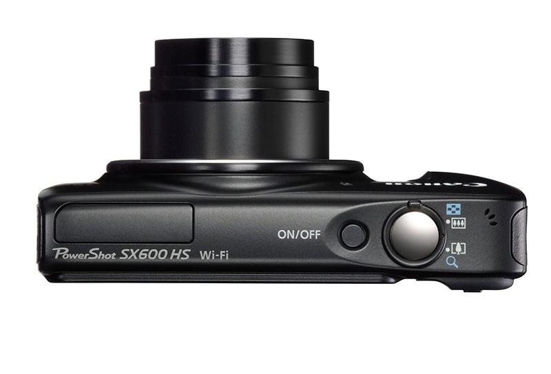 Canon PowerShot SX600 HS Review - top down