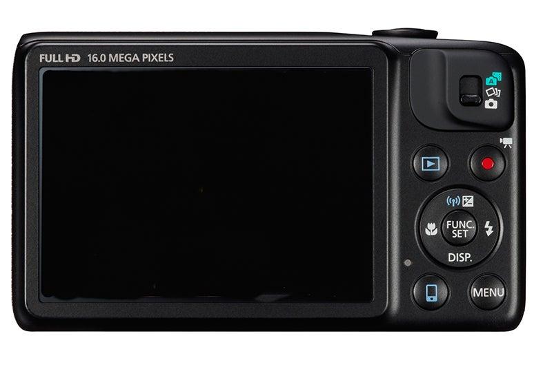 Canon PowerShot SX600 HS Review - rear