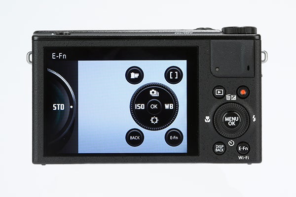 Fujifilm XQ1 Review -  rear