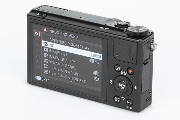 Fujifilm XQ1 Review -  rear angled