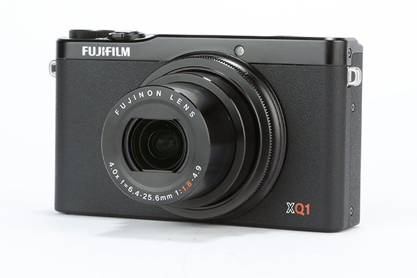 Fujifilm XQ1 Review - front angled