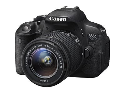 Canon EOS 700D front view