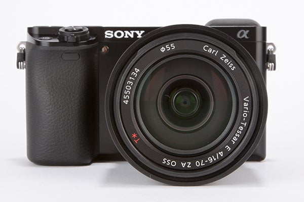 Sony Alpha 6000 Review - front