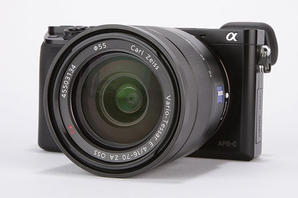 Sony Alpha 6000 Review - angled