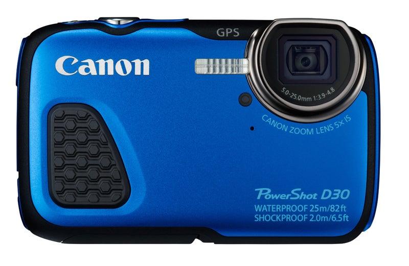Canon PowerShot D30 Review - front view