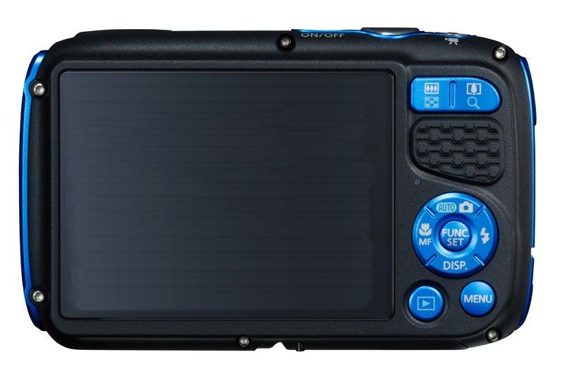 Canon PowerShot D30 Review - rear