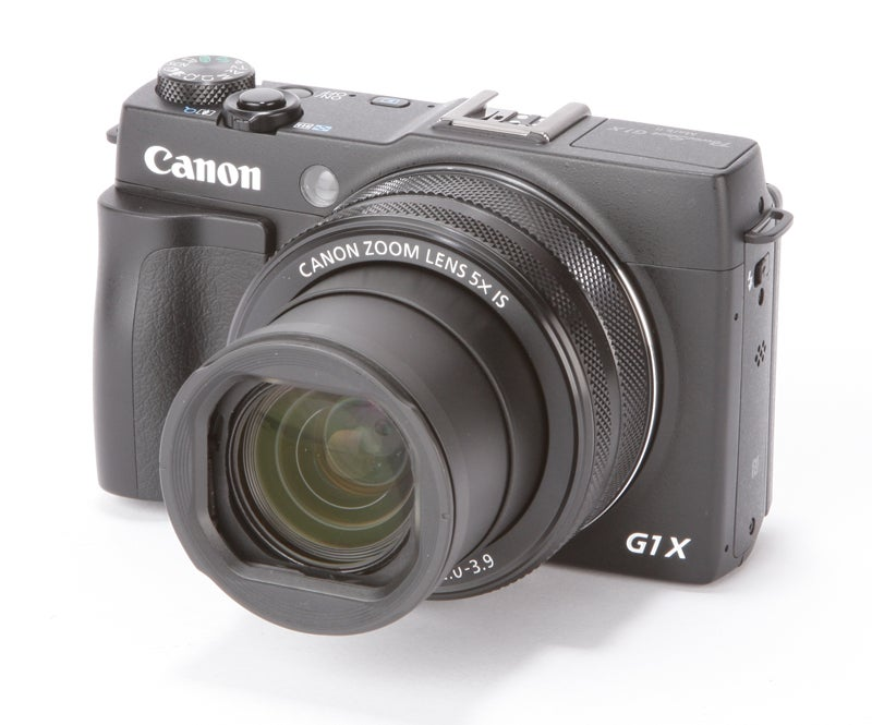 Canon PowerShot G1 X Mark II Review - front angled