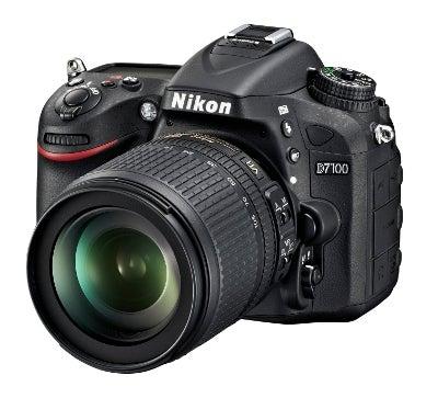 Nikon D7100 front angled