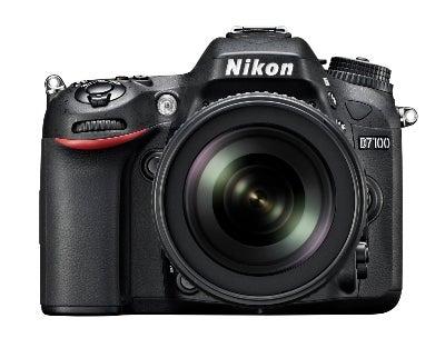Nikon D7100 front view