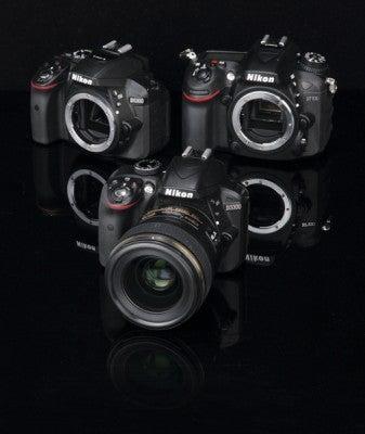 Nikon D3300 vs D5300 vs D7100 camera comparison
