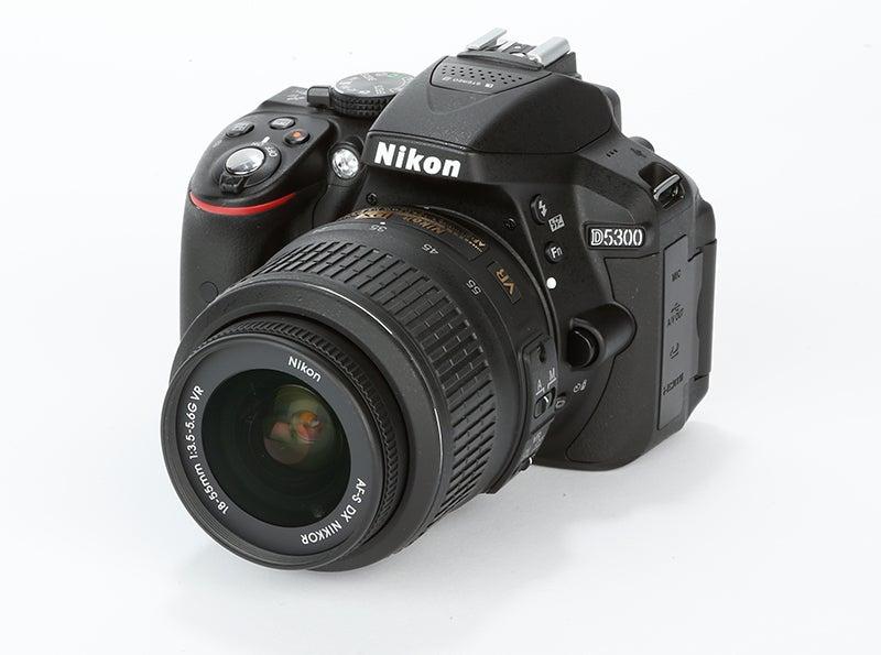 Nikon D5300 front angled