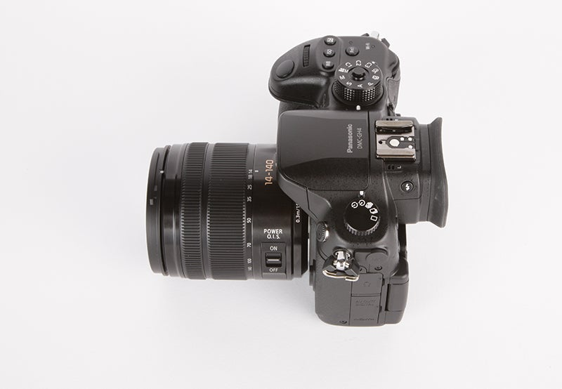Panasonic Lumix GH4 Review - side view