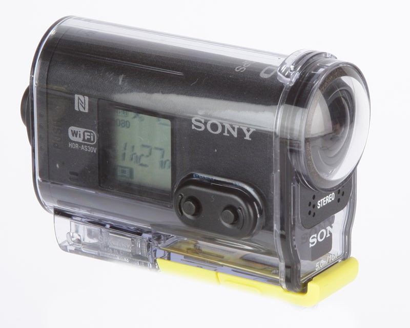 Sony AS30V side view