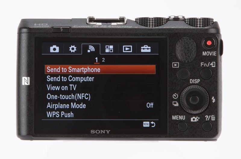 Sony HX60V Review - rear