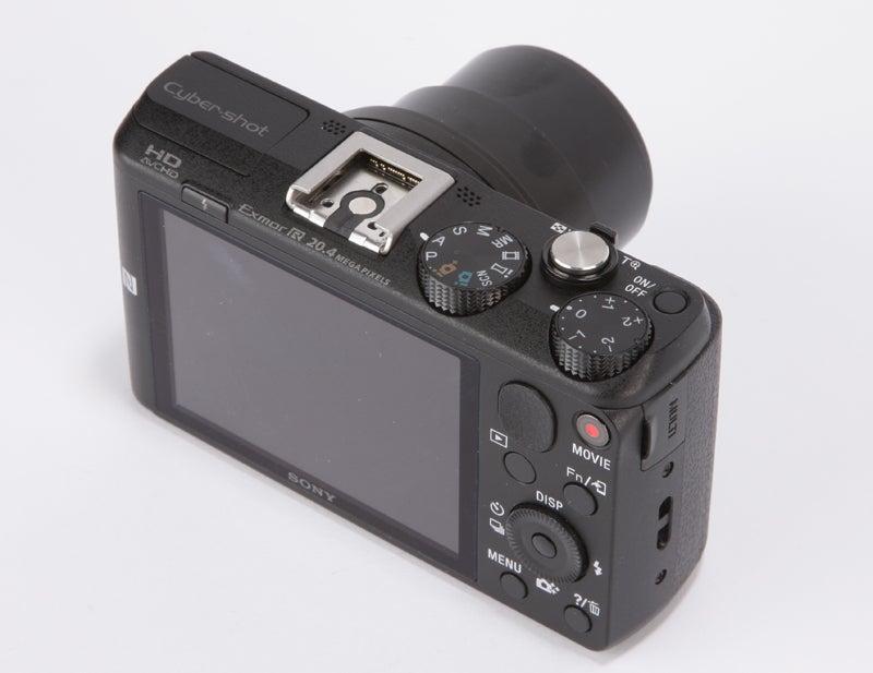 Sony HX60V Review - rear angled
