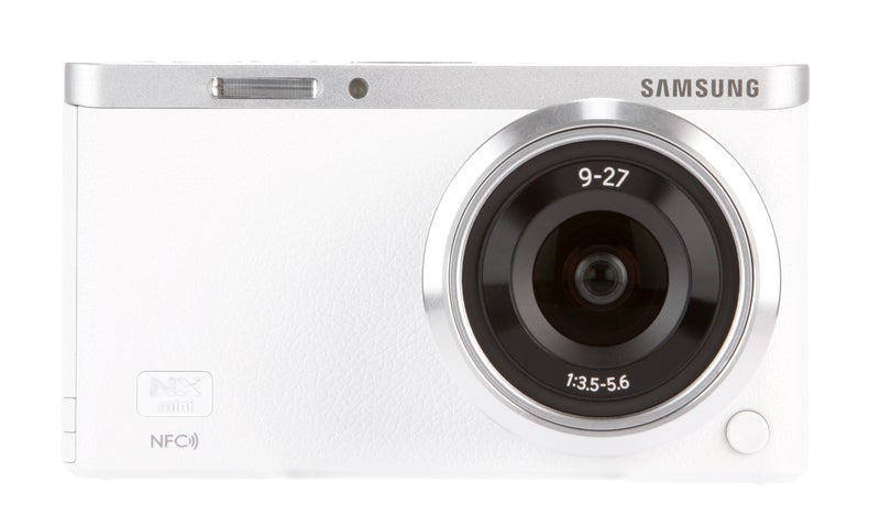 Samsung NX Mini Review - front view
