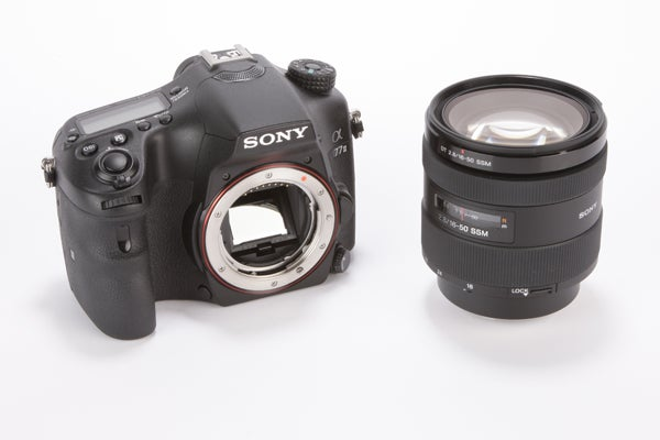 Sony Alpha A77 Mark II Review - with lens