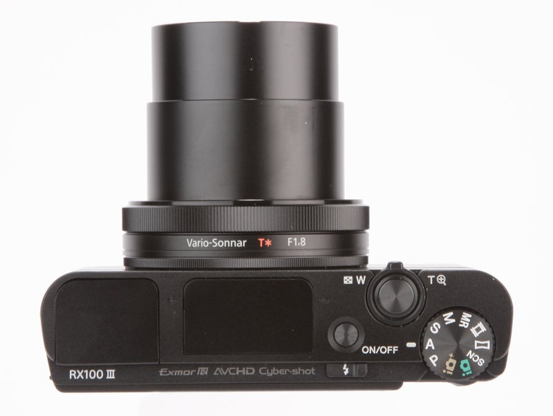 Sony Cyber-Shot RX100 III Review - top down