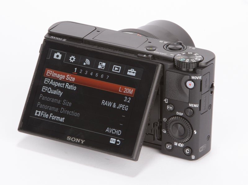 Sony Cyber-Shot RX100 III Review - rear angled