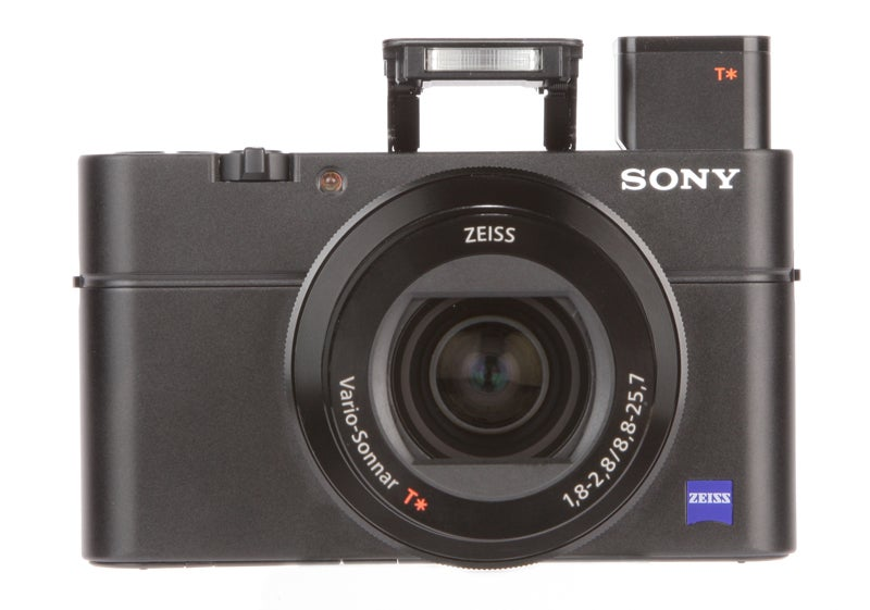 Sony Cyber-Shot RX100 III Review - front with flash and EVF
