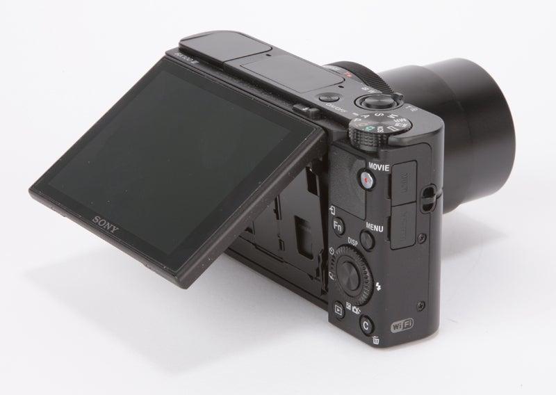 Sony Cyber-Shot RX100 III Review - rear screen