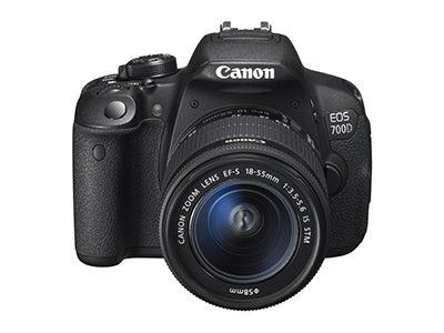 Canon EOS 700D front view