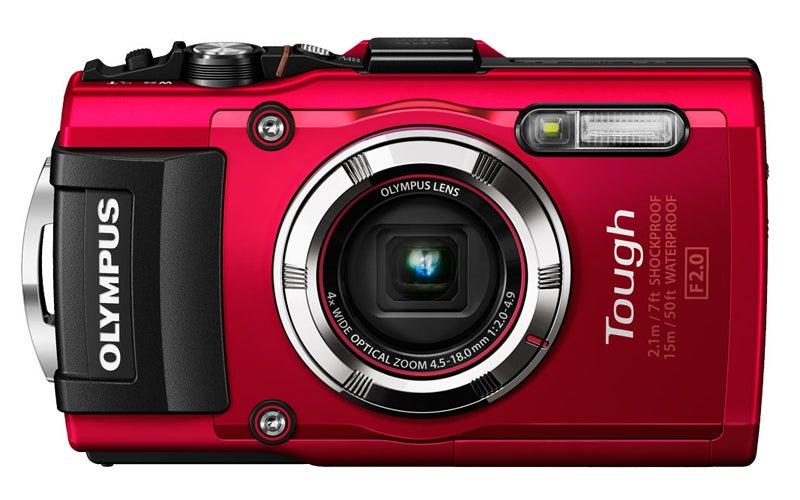 Olympus TG-3 Review - front on
