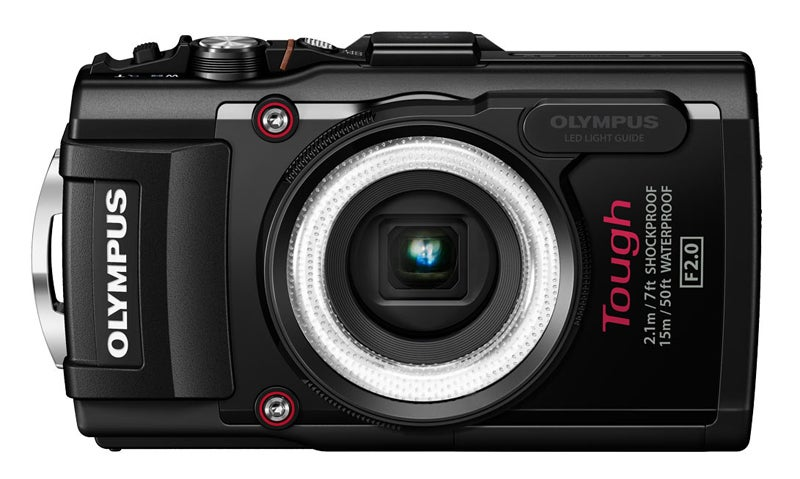 Olympus TG-3 Review - front