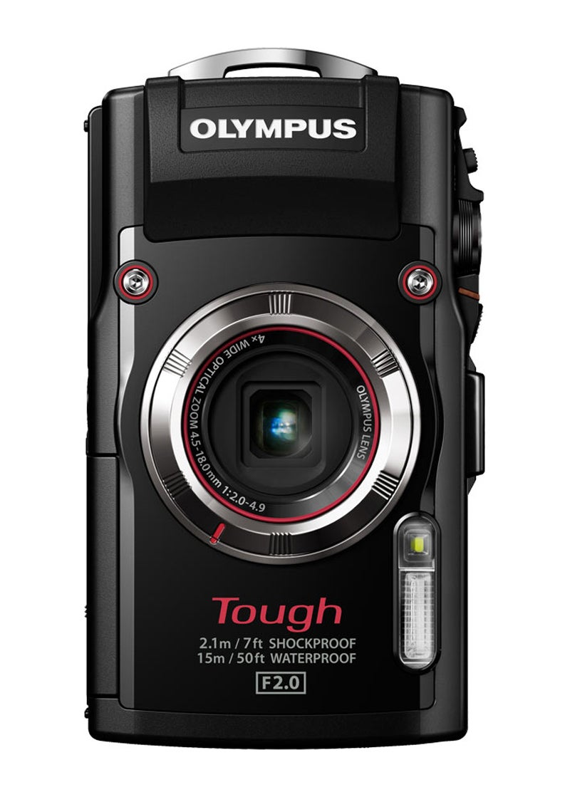 Olympus TG-3 Review - front side