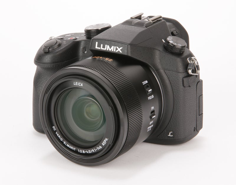 Panasonic Lumix FZ1000 Review - front higher angled