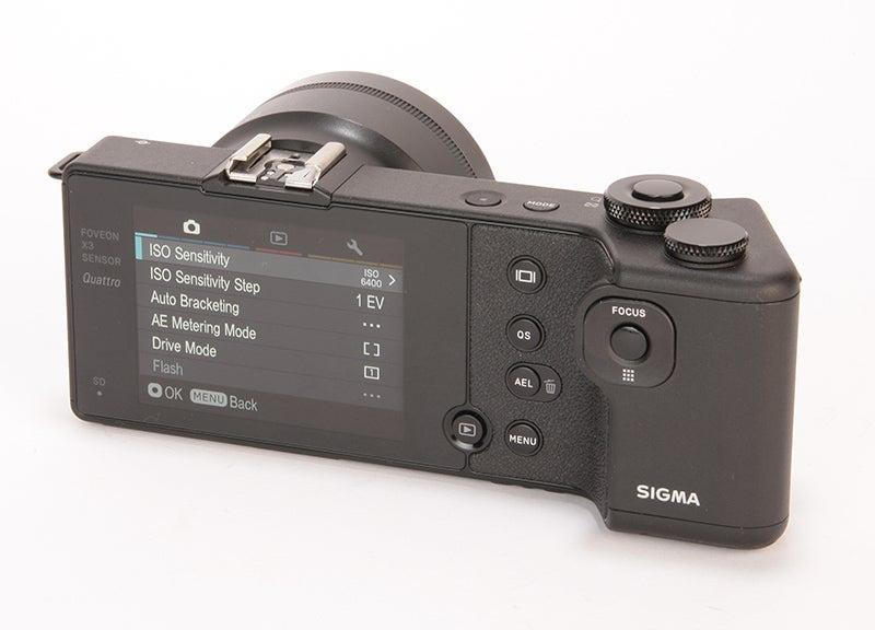 Sigma dp2 Quattro rear angled