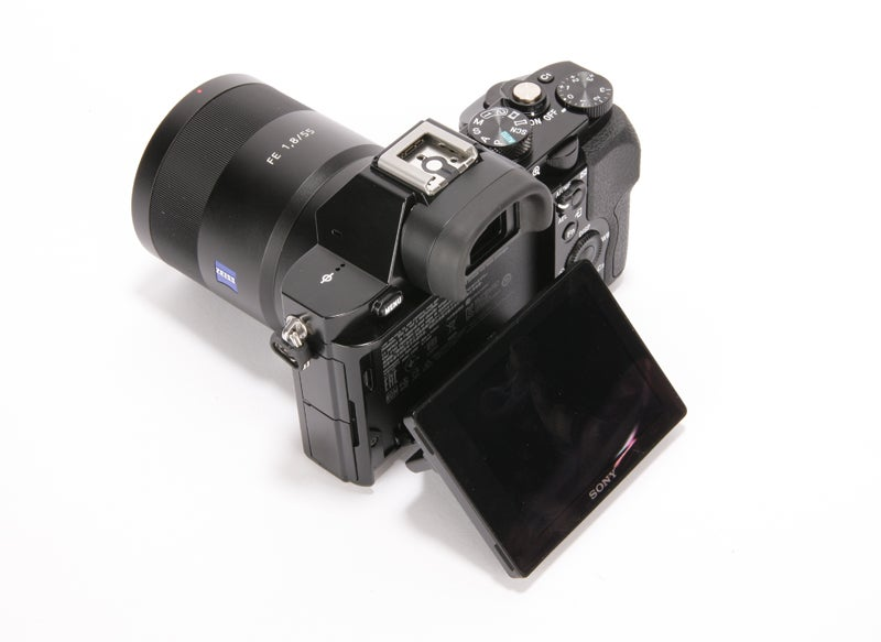 Sony Alpha 7S Review - rear angled