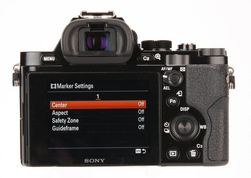 Sony Alpha 7S Review - rear