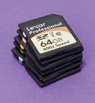 64GB SD cards